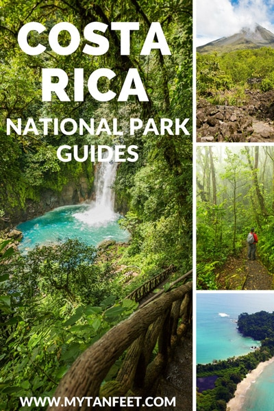 Costa Rica national park guides