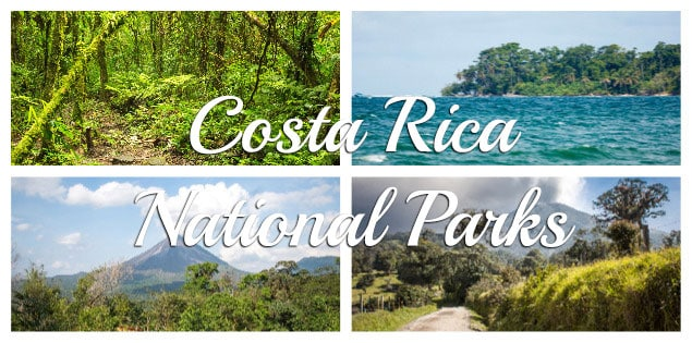 Costa Rica national parks featured