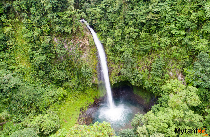 La Fortuna waterfall - Best waterfalls in Costa Rica