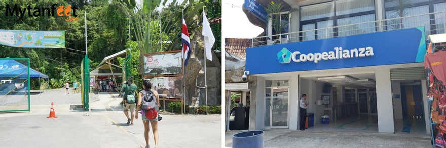 Manuel Antonio National Park ticket office