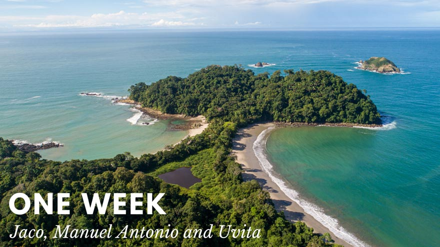 One week Costa Rica trip