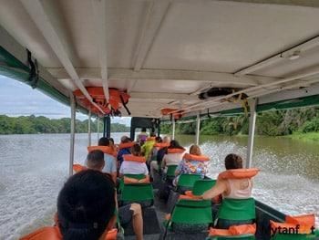 Tortuguero, Costa Rica - Boat ride from La Pavona