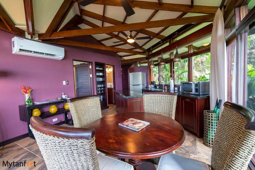 Tulemar premium bungalows living room