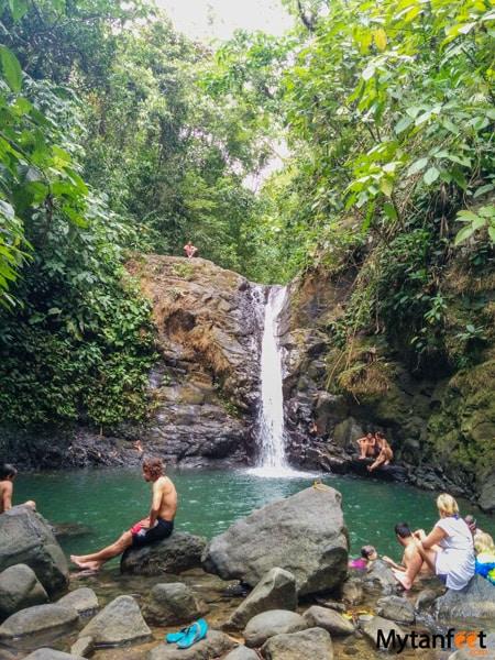 Uvita waterfall - Best waterfalls in Costa Rica