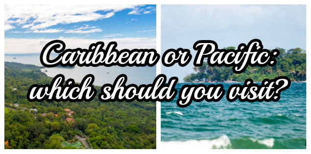 caribbean or pacific coast of costa rica featured