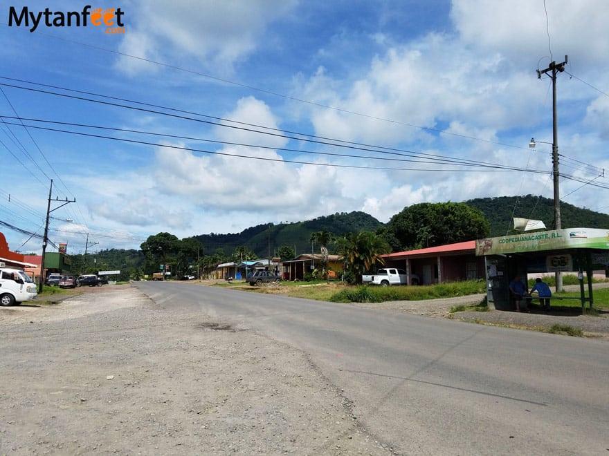 Bijagua Costa Rica town