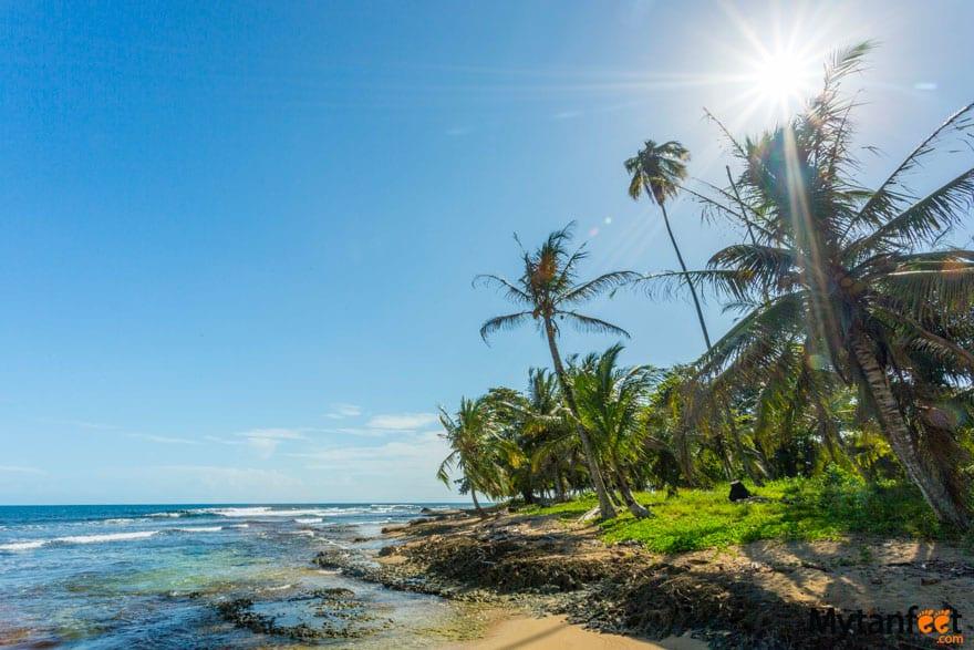 Playa Chiquita bandera azul