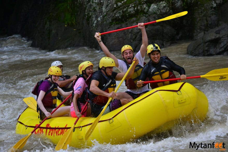 Things to do in Puerto Viejo de Talamanca - white water rafting Rio Pacuare
