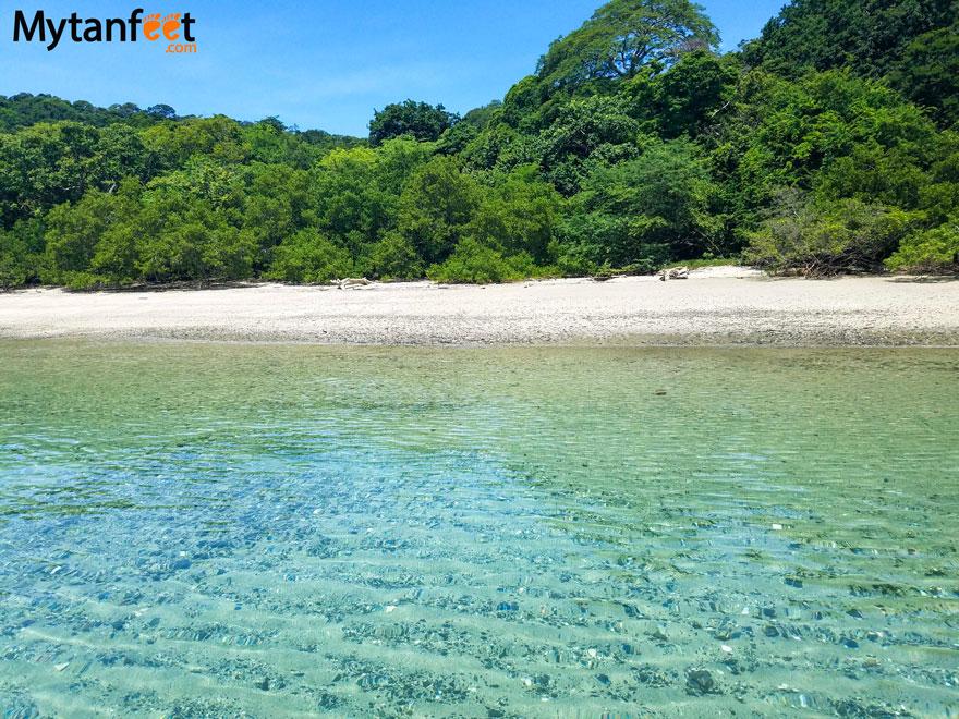 White sand beaches in Costa Rica - Gulf of Papagayo