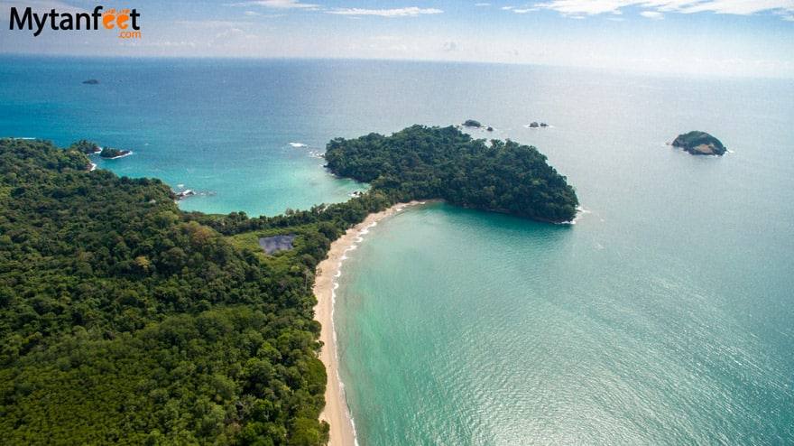 White sand beaches in Costa Rica - Manuel Antonio
