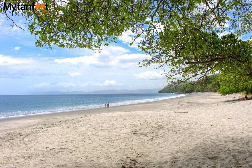 White sand beaches in Costa Rica - Playa Cabuyal