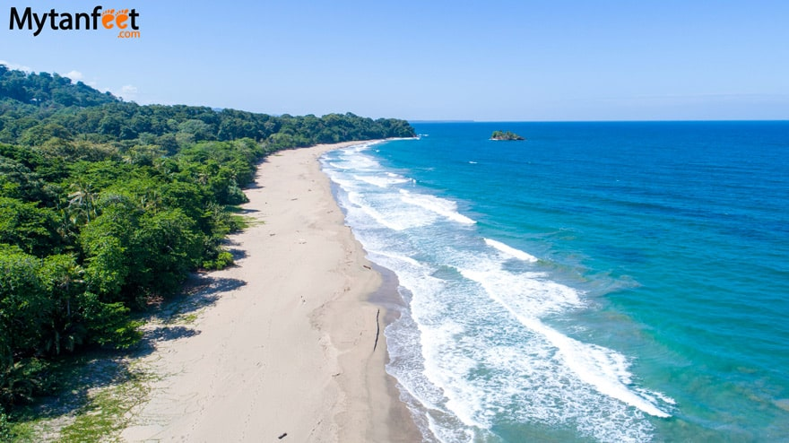 White sand beaches in Costa Rica - Playa Cocles