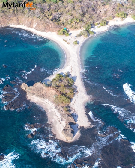 White sand beaches in Costa Rica - Playa San Juanillo