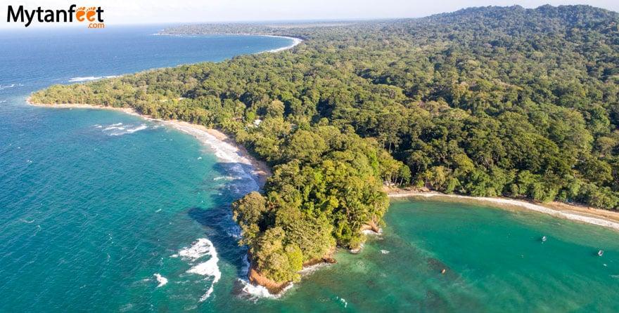 White sand beaches in Costa Rica - Playa Punta Uva