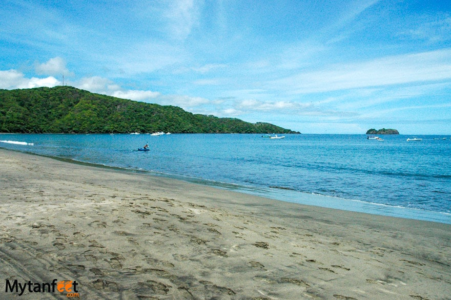 black sand beaches in Costa Rica - Playa Hermosa Guanacaste