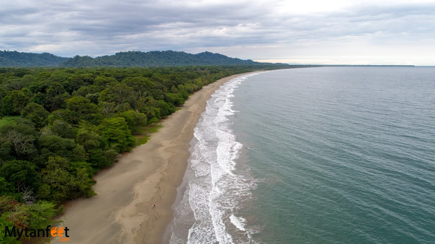 black sand beaches in Costa Rica - Playa Negra Puerto Viejo