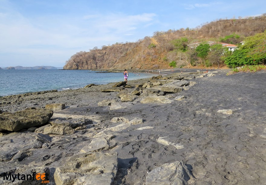 black sand beaches in Costa Rica - Playa Ocotal