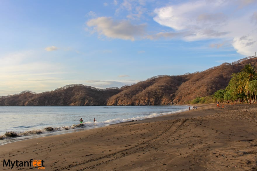 black sand beaches in Costa Rica - Playas del Coco