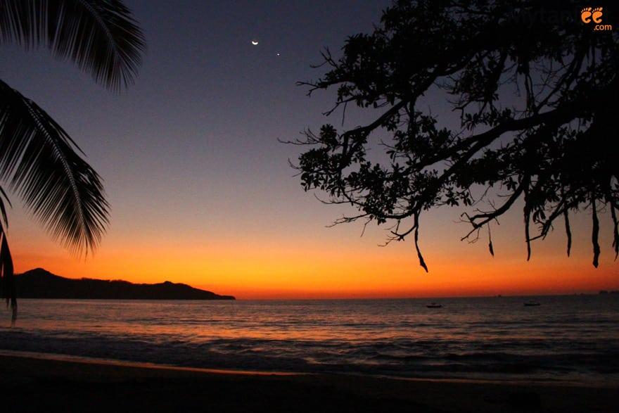 Brasilito Costa Rica sunset