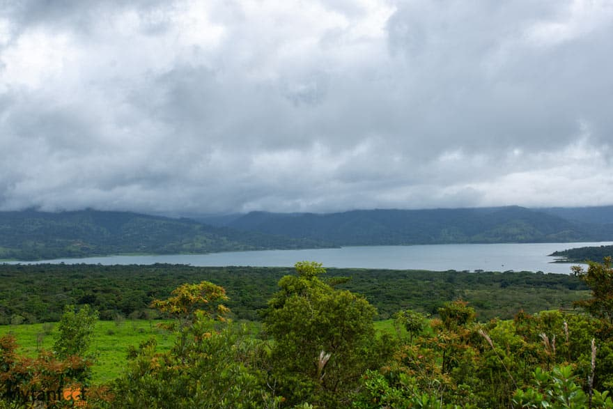 Costa Rica facts - Lake Arenal