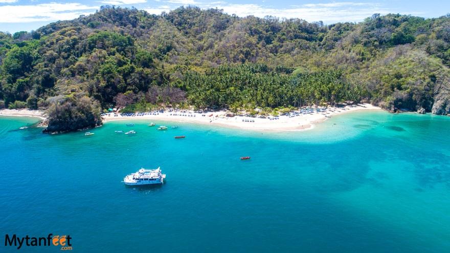 Tortuga Island Costa Rica Day tour Isla Tortuga - Bay Island Cruises