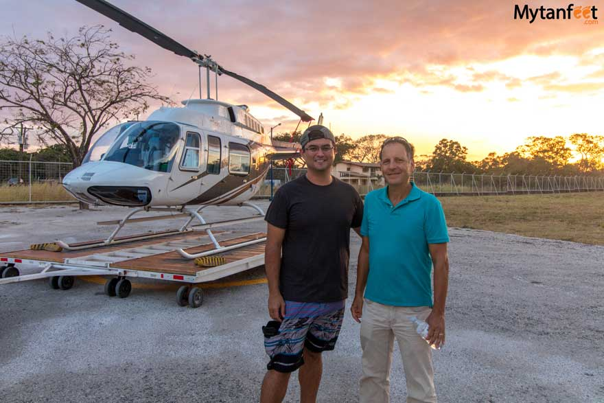 Adventure Air Costa Rica helicopter tours