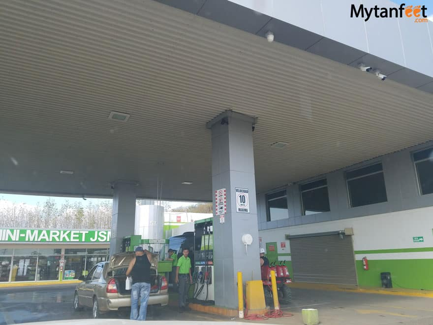 Costa Rica gas stations