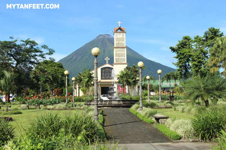 Arenal and La Fortuna. This area has a ton of wildlife, is easy access from SJO and LIr airport and has so many fun activities! Very family friendly as well