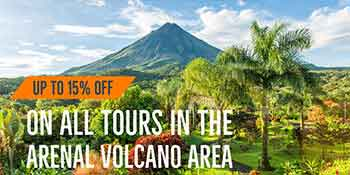 La Fortuna tours special deal