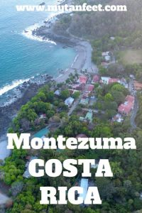 Montezuma Costa Rica - Bohemian beach town in the Nicoya Peninsula. Read our guide to visiting here: https://mytanfeet.com/cities-costa-rica/montezuma-costa-rica/