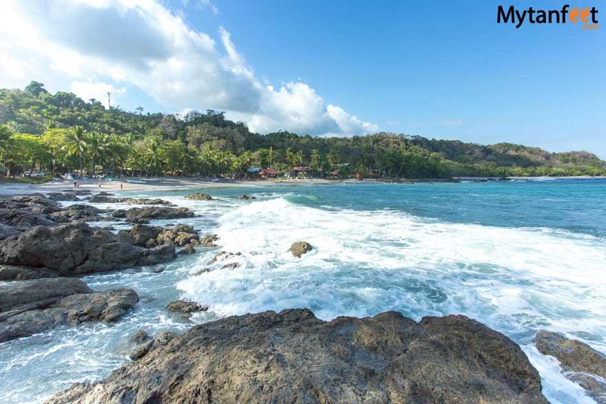 Montezuma beaches - Playa Montezuma and tidepools