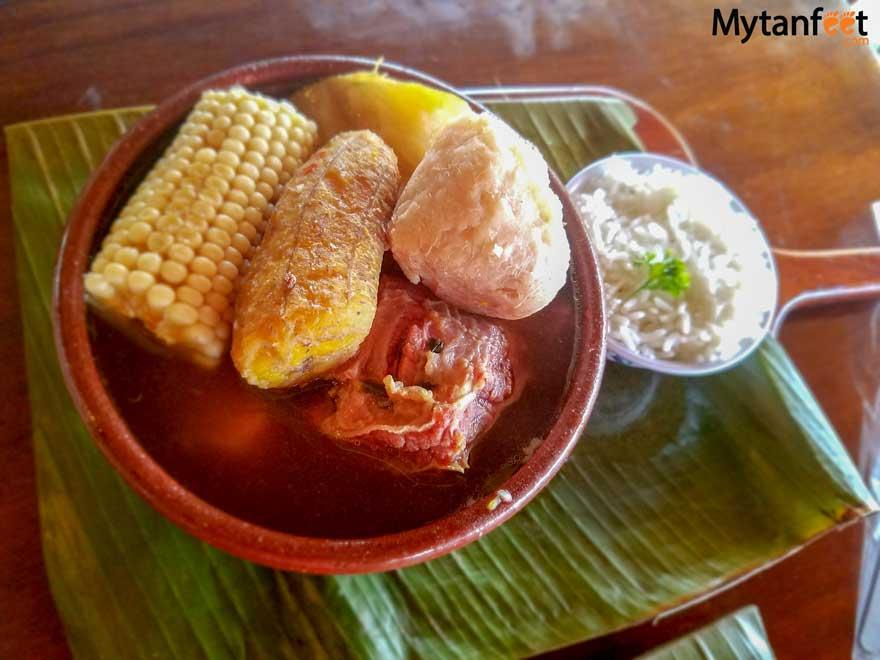 Olla de carne recipe - Costa Rican beef stew