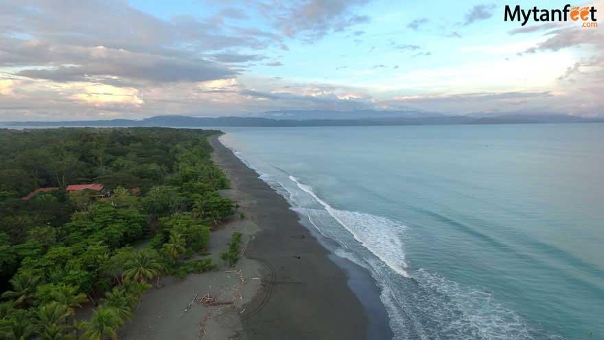 Puerto Jimenez main beach