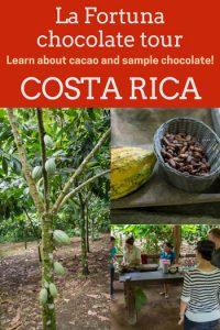 Rainforest Chocolate Tour La Fortuna