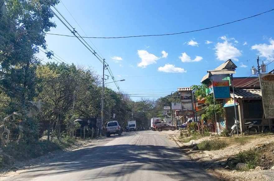 Santa Teresa Costa Rica Town
