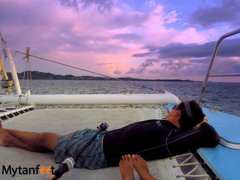 Sunset sailing cruise Tamarindo