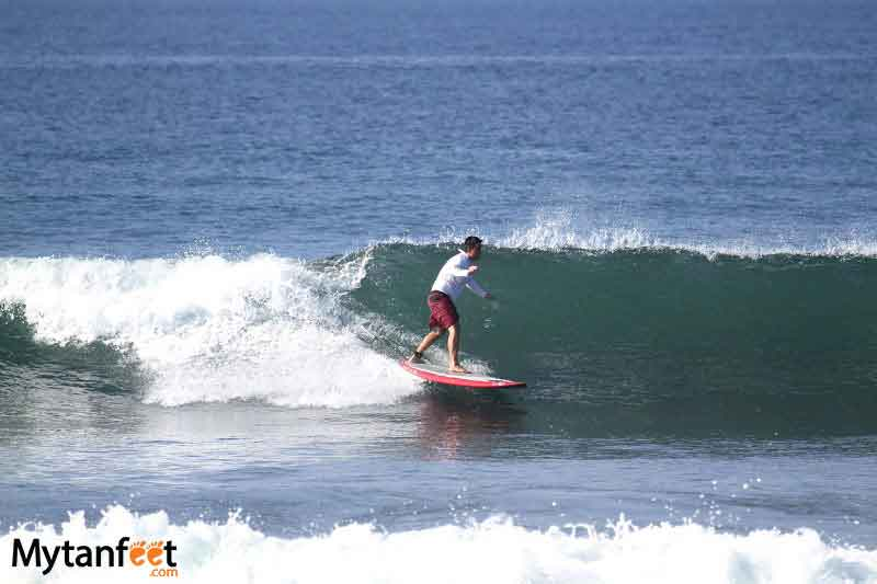things to do in costa rica - surfing