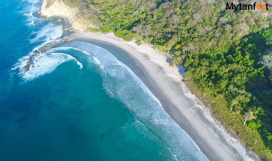 Playa Barrigona Costa Rica aerial photo