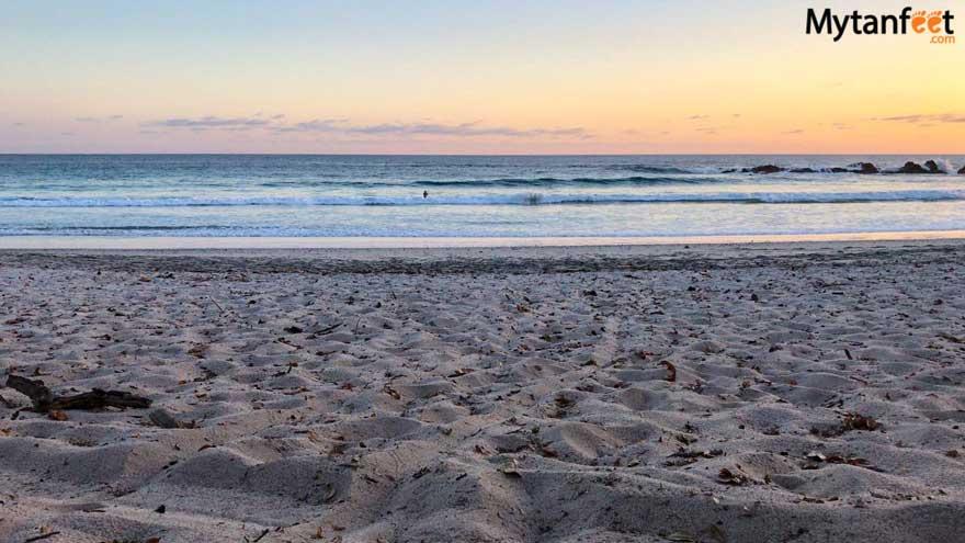 Playa Barrigona Costa Rica sunset