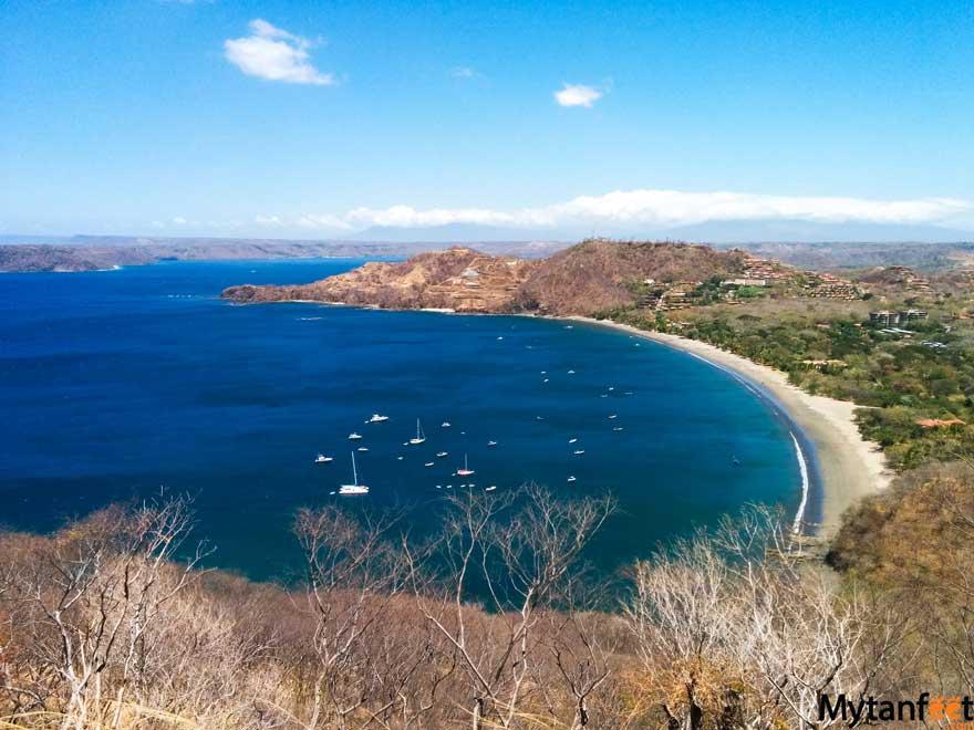 Playa Calzon de Pobre - View of Hermosa beach