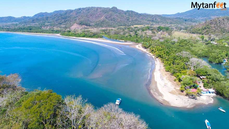 Playa Pochote PuntarenasCosta Rica - beach and river
