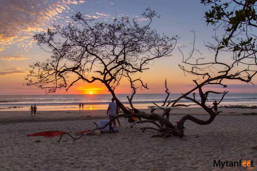 Playa Avellanas, Costa Rica sunset