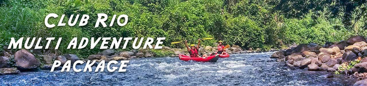 Club Rio Discount - multi adventure package