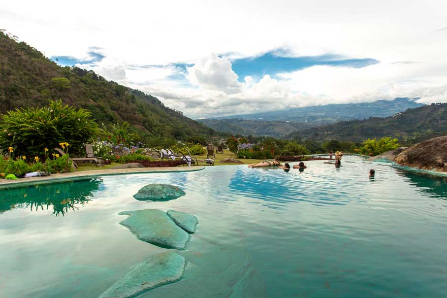 Hacienda Orosi hot springs