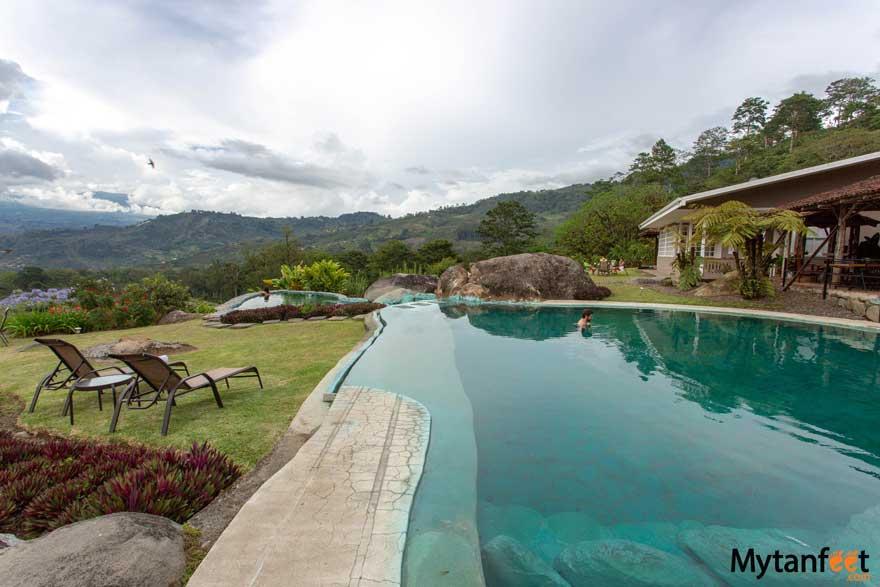 Hacienda Orosi thermal springs