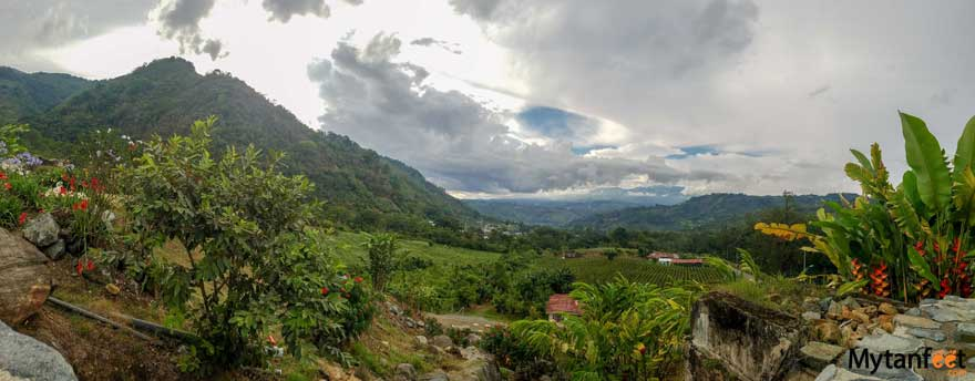 Hacienda Orosi view