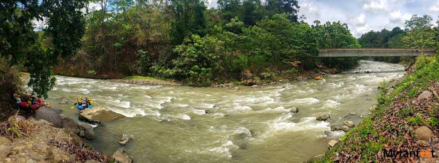 La Fortuna white water rafting - Balsa River