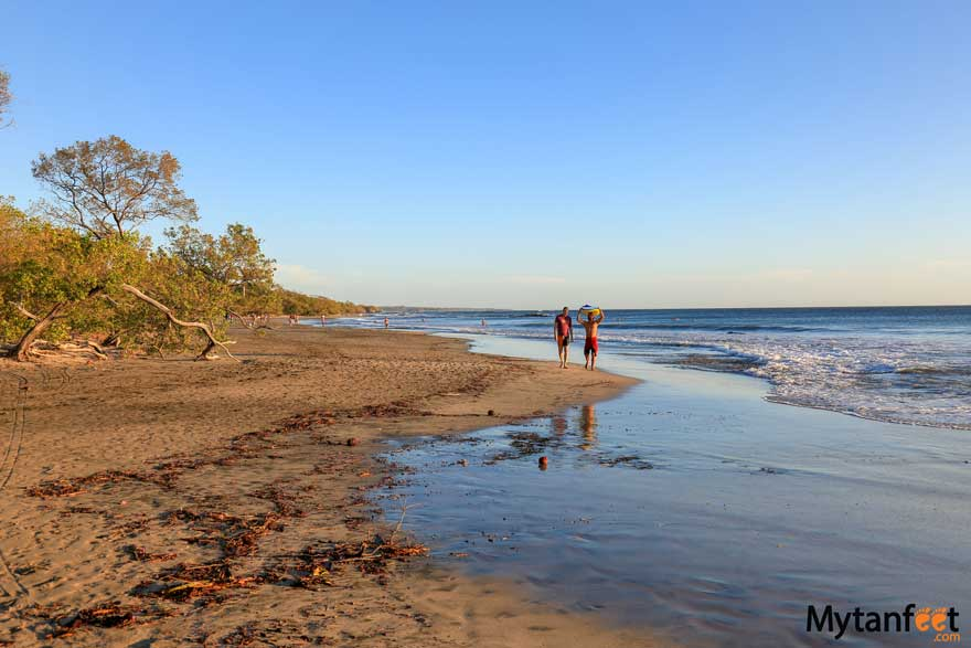 Playa Avellanas Costa Rica beach