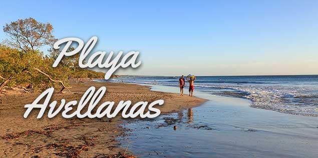 Playa Avellanas Costa Rica featured