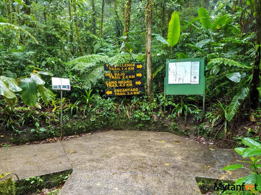 Santa Elena Cloud Forest Reserve hiking trails
